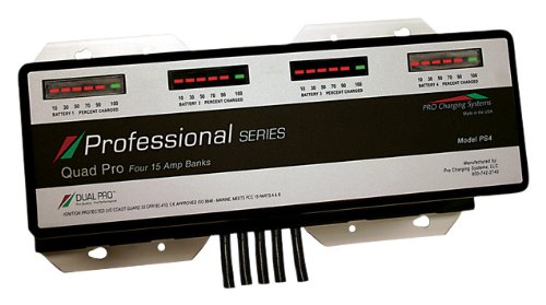 Pro Charging Systems Ps4 Professional Series Marine Quad